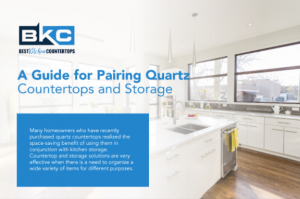 A Guide for Pairing Quartz Countertops and Storage1