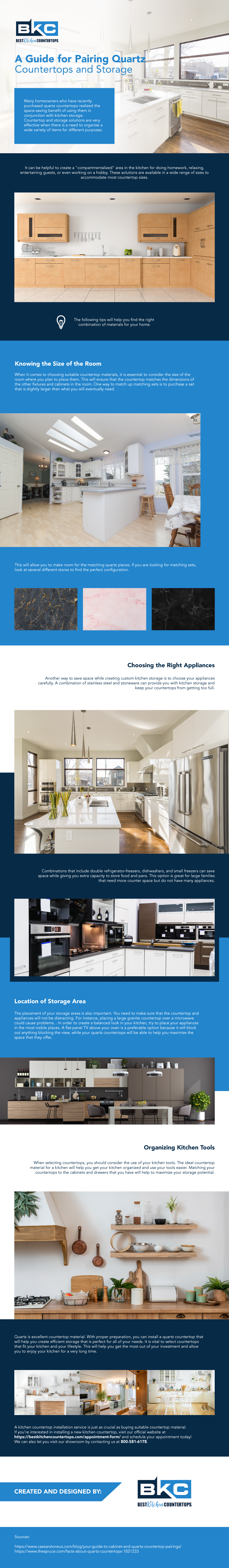 A Guide for Pairing Quartz Countertops and Storage01